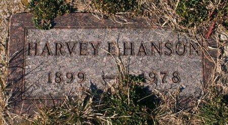 HANSON, HARVEY E - Roberts County, South Dakota | HARVEY E HANSON - South Dakota Gravestone Photos