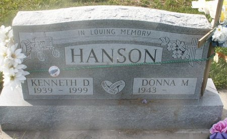 HANSON, DONNA M - Roberts County, South Dakota   DONNA M HANSON - South Dakota Gravestone Photos