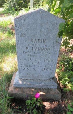 HANSON, KARIN - Roberts County, South Dakota | KARIN HANSON - South Dakota Gravestone Photos