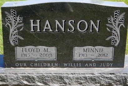 HANSON, MINNIE - Roberts County, South Dakota | MINNIE HANSON - South Dakota Gravestone Photos