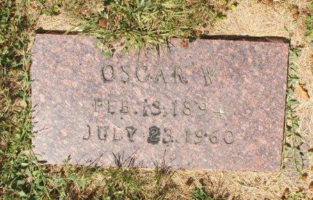 HANSON, OSCAR W - Roberts County, South Dakota   OSCAR W HANSON - South Dakota Gravestone Photos