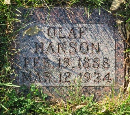 HANSON, OLAF - Roberts County, South Dakota | OLAF HANSON - South Dakota Gravestone Photos