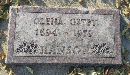 HANSON, OLENA - Roberts County, South Dakota   OLENA HANSON - South Dakota Gravestone Photos