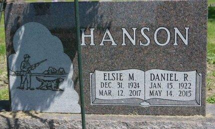 HANSON, DANIEL R. SR. - Roberts County, South Dakota | DANIEL R. SR. HANSON - South Dakota Gravestone Photos