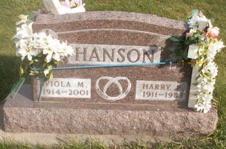 HANSON, VIOLA M. - Roberts County, South Dakota   VIOLA M. HANSON - South Dakota Gravestone Photos