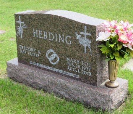 HERDING, GREGORY A. - Roberts County, South Dakota   GREGORY A. HERDING - South Dakota Gravestone Photos