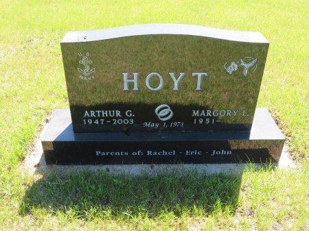 HOYT, ARTHUR G. - Roberts County, South Dakota | ARTHUR G. HOYT - South Dakota Gravestone Photos