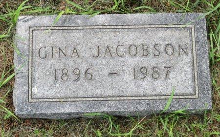 JACOBSON, GINA - Roberts County, South Dakota | GINA JACOBSON - South Dakota Gravestone Photos