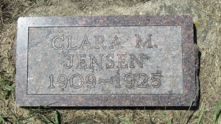 JENSEN, CLARA M. - Roberts County, South Dakota | CLARA M. JENSEN - South Dakota Gravestone Photos