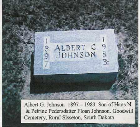 JOHNSON, ALBERT - Roberts County, South Dakota | ALBERT JOHNSON - South Dakota Gravestone Photos