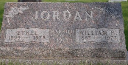 HUNTER JORDAN, ETHEL - Roberts County, South Dakota   ETHEL HUNTER JORDAN - South Dakota Gravestone Photos