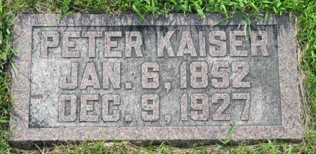 KAISER, PETER - Roberts County, South Dakota | PETER KAISER - South Dakota Gravestone Photos