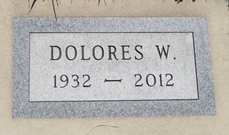 KELLER, DOLORES W. - Roberts County, South Dakota | DOLORES W. KELLER - South Dakota Gravestone Photos