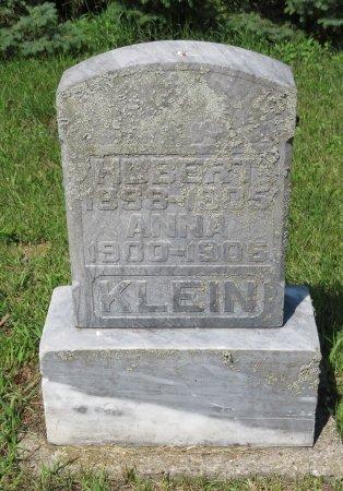 KLEIN, HUBERT - Roberts County, South Dakota | HUBERT KLEIN - South Dakota Gravestone Photos