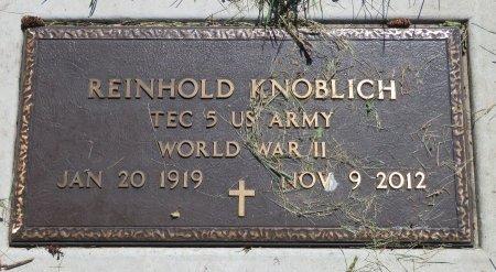 KNOBLICH, REINHOLD - Roberts County, South Dakota | REINHOLD KNOBLICH - South Dakota Gravestone Photos