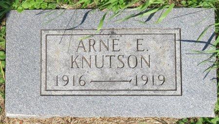 KNUTSON, ARNE E. - Roberts County, South Dakota | ARNE E. KNUTSON - South Dakota Gravestone Photos