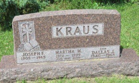 KRAUS, DALLAS J. - Roberts County, South Dakota   DALLAS J. KRAUS - South Dakota Gravestone Photos