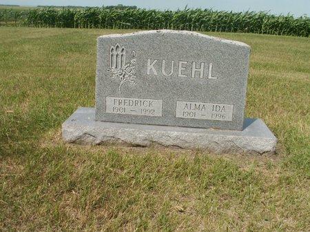 KUEHL, FREDRICK - Roberts County, South Dakota | FREDRICK KUEHL - South Dakota Gravestone Photos