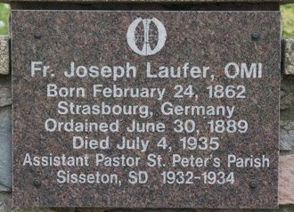 LAUFER, JOSEPH - Roberts County, South Dakota | JOSEPH LAUFER - South Dakota Gravestone Photos