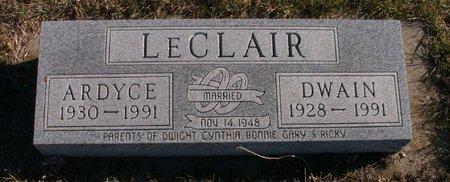 LECLAIR, DWAIN - Roberts County, South Dakota   DWAIN LECLAIR - South Dakota Gravestone Photos