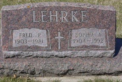 LEHRKE, SOPHIA A. - Roberts County, South Dakota | SOPHIA A. LEHRKE - South Dakota Gravestone Photos