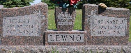 LEWNO, BERNARD J. - Roberts County, South Dakota | BERNARD J. LEWNO - South Dakota Gravestone Photos