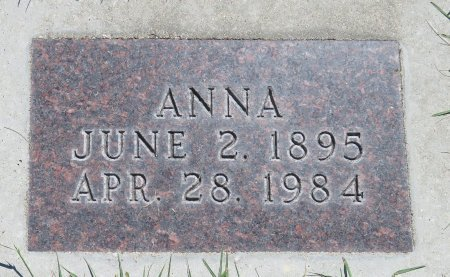 LICK, ANNA - Roberts County, South Dakota | ANNA LICK - South Dakota Gravestone Photos