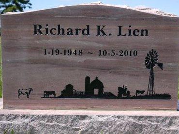LIEN, RICHARD K. - Roberts County, South Dakota   RICHARD K. LIEN - South Dakota Gravestone Photos