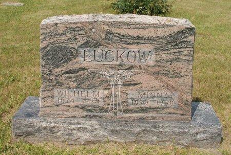 LUCKOW, WILHELM - Roberts County, South Dakota | WILHELM LUCKOW - South Dakota Gravestone Photos