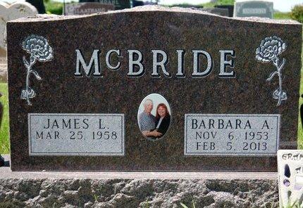 """MCBRIDE, BARBARA A. """"BARB"""" - Roberts County, South Dakota   BARBARA A. """"BARB"""" MCBRIDE - South Dakota Gravestone Photos"""