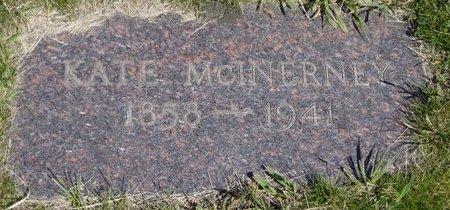 MCINERNEY, KATE - Roberts County, South Dakota   KATE MCINERNEY - South Dakota Gravestone Photos