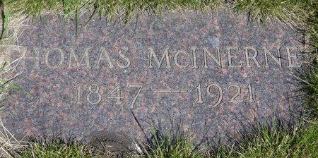 MCINERNEY, THOMAS - Roberts County, South Dakota   THOMAS MCINERNEY - South Dakota Gravestone Photos