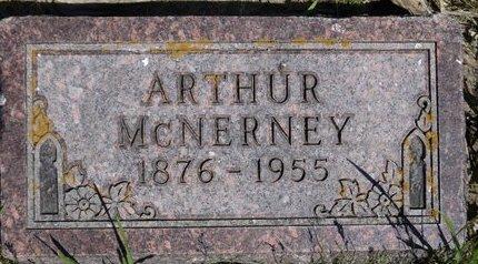 MCNERNEY, ARTHUR - Roberts County, South Dakota | ARTHUR MCNERNEY - South Dakota Gravestone Photos