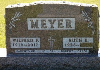 RATTELMULLER MEYER, RUTH E. - Roberts County, South Dakota | RUTH E. RATTELMULLER MEYER - South Dakota Gravestone Photos