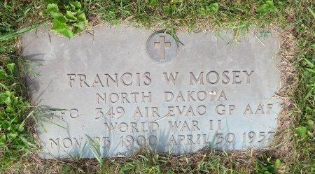 MOSEY, FRANCIS W - Roberts County, South Dakota | FRANCIS W MOSEY - South Dakota Gravestone Photos