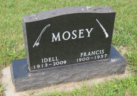 MOSEY, FRANCIS - Roberts County, South Dakota | FRANCIS MOSEY - South Dakota Gravestone Photos