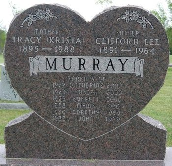 KRISTA MURRAY, TRACY - Roberts County, South Dakota | TRACY KRISTA MURRAY - South Dakota Gravestone Photos