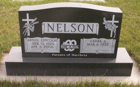 NELSON, LAVAE A. - Roberts County, South Dakota | LAVAE A. NELSON - South Dakota Gravestone Photos