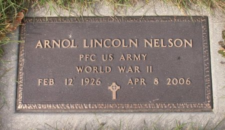 NELSON, ARNOL LINCOLN - Roberts County, South Dakota   ARNOL LINCOLN NELSON - South Dakota Gravestone Photos