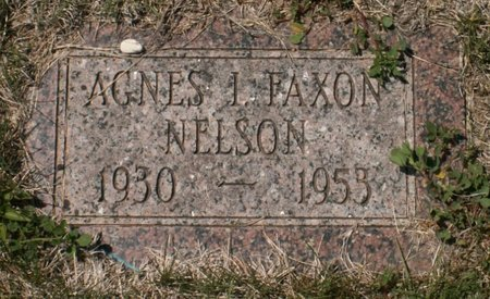 NELSON, AGNES I. - Roberts County, South Dakota   AGNES I. NELSON - South Dakota Gravestone Photos