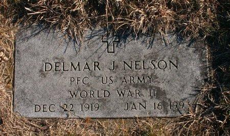 NELSON, DELMAR J - Roberts County, South Dakota   DELMAR J NELSON - South Dakota Gravestone Photos