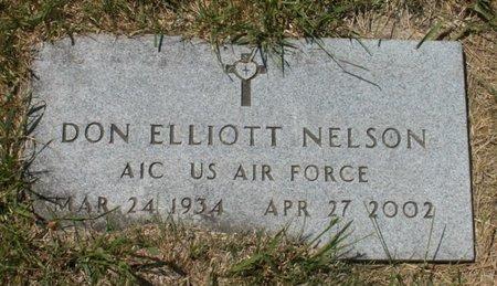 NELSON, DON ELLIOTT - Roberts County, South Dakota   DON ELLIOTT NELSON - South Dakota Gravestone Photos