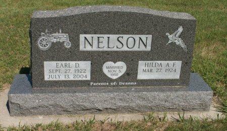 NELSON, EARL D. - Roberts County, South Dakota | EARL D. NELSON - South Dakota Gravestone Photos