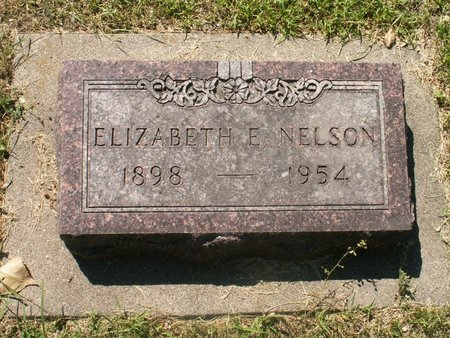 NELSON, ELIZABETH E - Roberts County, South Dakota | ELIZABETH E NELSON - South Dakota Gravestone Photos