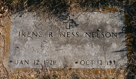 NELSON, IRENE R. - Roberts County, South Dakota | IRENE R. NELSON - South Dakota Gravestone Photos