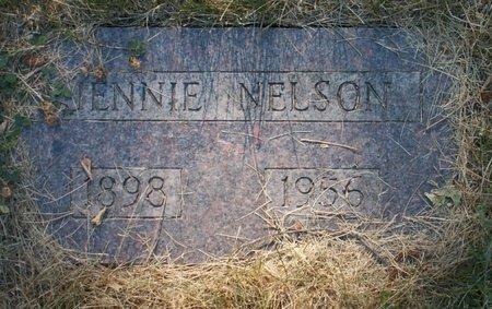 NELSON, JENNIE - Roberts County, South Dakota   JENNIE NELSON - South Dakota Gravestone Photos