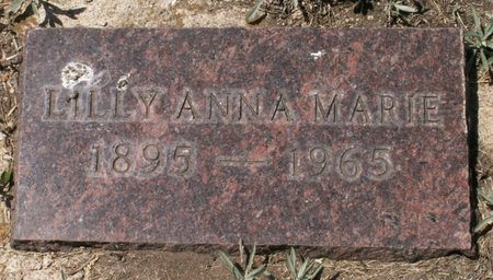 NELSON, LILLY ANNA MARIE - Roberts County, South Dakota   LILLY ANNA MARIE NELSON - South Dakota Gravestone Photos