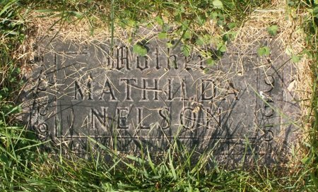 NELSON, MATHILDA - Roberts County, South Dakota | MATHILDA NELSON - South Dakota Gravestone Photos