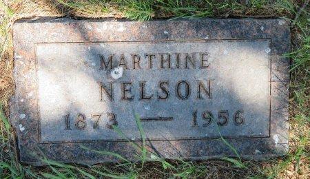 NELSON, MARTHINE - Roberts County, South Dakota | MARTHINE NELSON - South Dakota Gravestone Photos