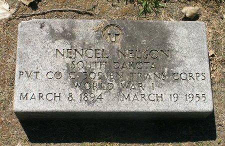 NELSON, NENCEL - Roberts County, South Dakota | NENCEL NELSON - South Dakota Gravestone Photos